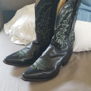 Shoes - Angel ranch black cowboy boots